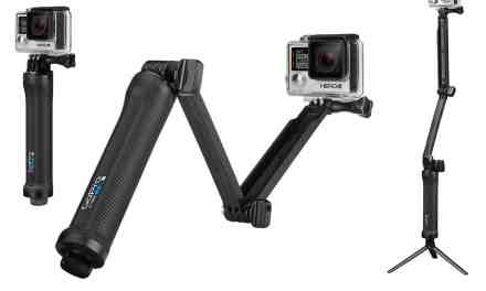 Introducing The All New 3-Way Mount by GoPro