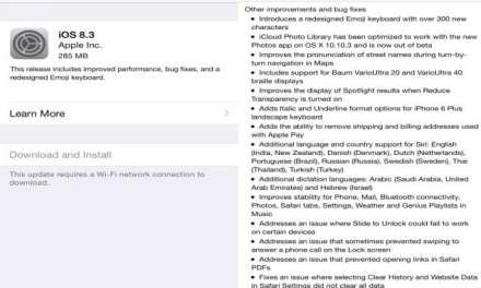 iOS 8.3 arrives with enhanced Siri as well as racially diverse emoji