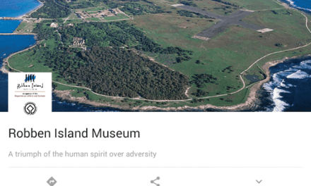 Google offers you a trip around Robben Island, Digital Style