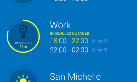 GridWatch – Get The Latest Load Shedding Schedules On Your Mobile Device
