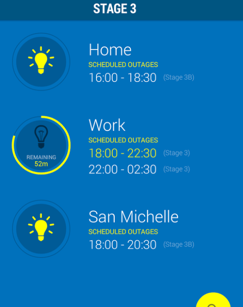 GridWatch - Get The Latest Load Shedding Schedules On Your