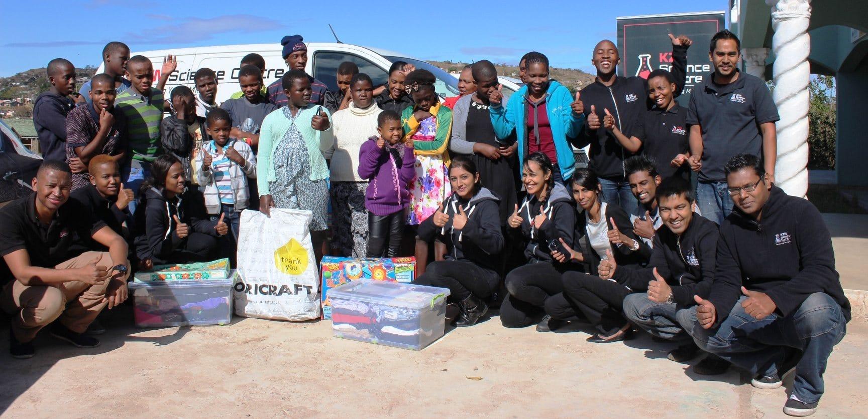 Good Abalindi Children'S Home - The-KZN-Science-Centre-team-at-the-Abalindi-Childrens-Home-in-Inanda-on-July-17-for-Mandela-Day  Snapshot_714563.jpg