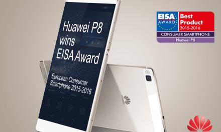 HUAWEI P8 Wins EISA Consumer Smartphone Award