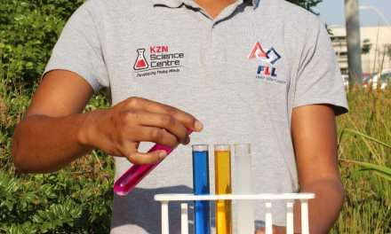 Young man making an impact in young lives for the KZN Science Centre