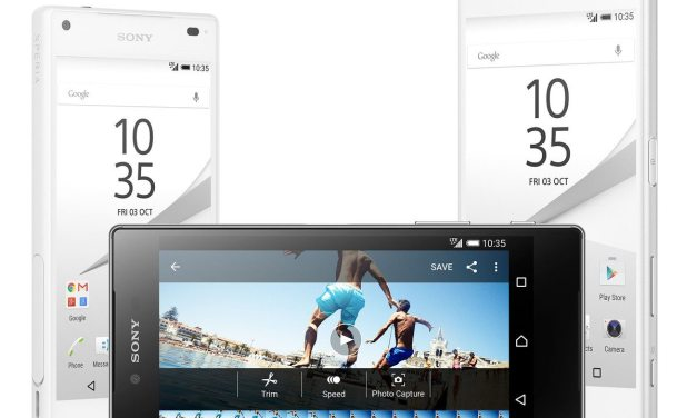 Sony Unveils Xperia Z5, Xperia Z5 Compact And World's First Phone With a 4K Display