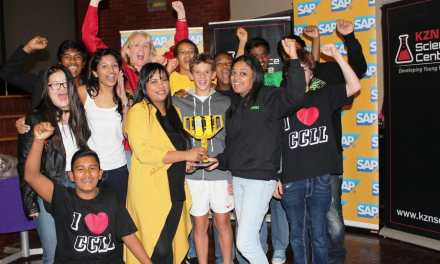 SAP Legocy emerges as winners of the SAP First Lego League 2015 competition!