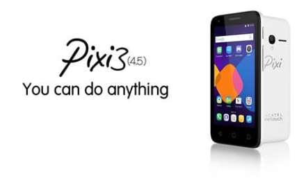 PIXI 3 (4.5) from ALCATEL ONETOUCH delivers affordability and accessibility to smartphone users