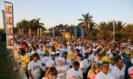 More than 30 000 take part in the Discovery East Coast Radio Big Walk
