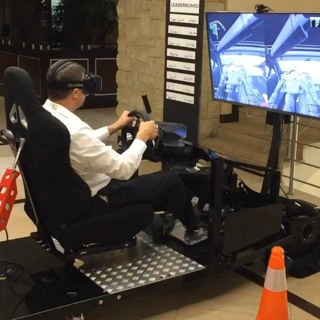 Hisense Televisions add unique perspective to Racing Simulators