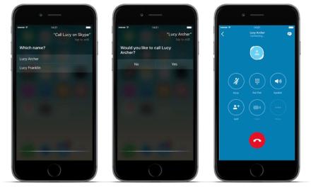 How To Make Skype Calls On iOS 10 Using Siri