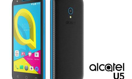 Alcatel Introduces U5, the Most Affordable 5″ 4G Smartphone
