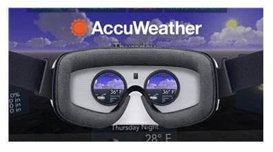 AccuWeather Launches Samsung Gear Virtual Reality Application, Powered by Oculus