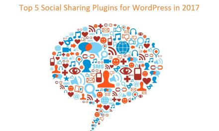 Top 5 Social Sharing Plugins for WordPress in 2017