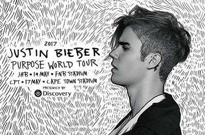 Justin Bieber – Purpose Tour Children Contest: Stand in line to dance on stage with Justin Bieber