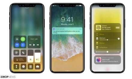 Renders of the iPhone 8 Running on iOS 11 leaked for the first time