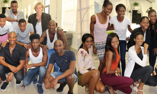 Poise, Practice and Posture is all in a day's learning for the 2017 Durban Fashion Fair New Faces Models