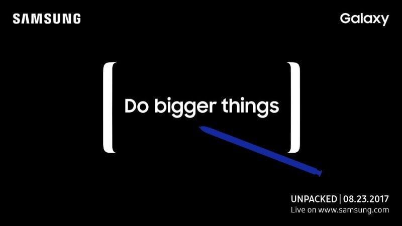 Samsung Galaxy Unpacked 2017