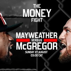 Mayweather vs McGregor: How to watch it in South Africa?