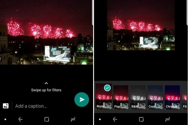 Photo Filters Set To Arrive Soon On WhatsApp For Android Users