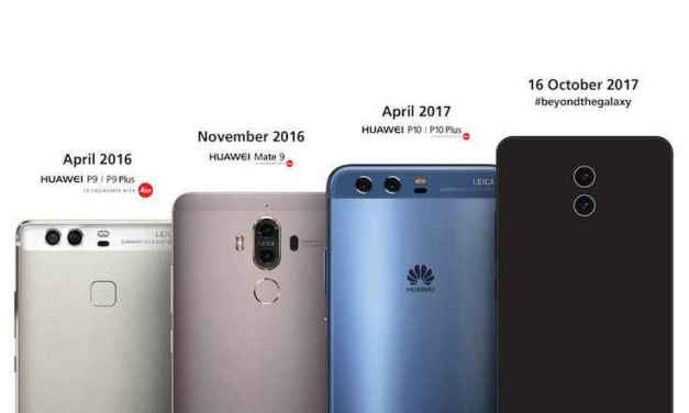 Leica-Branded Dual Rear Camera Featured In Huawei Mate 10 Teaser