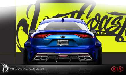 KIA Motors team up with West Coast Customs
