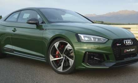 New Audi RS 5 Coupé Roars with New Form of V6 Power!