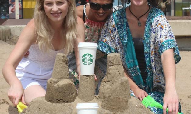 Durbanites invited to take part in Starbucks sandcastle challenge on November 18!