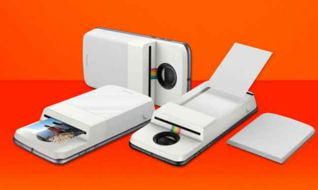 Polaroid's Insta-Share Printer Mod Arrives For Moto Z Series