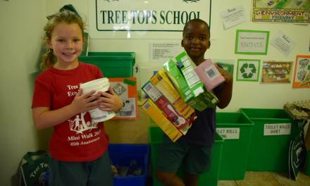 You're never too young to start recycling!