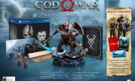 Release Date & Editions Announced for God of War PS4