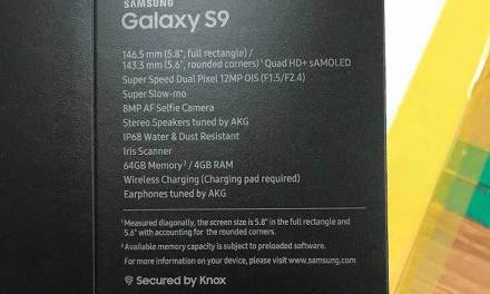 Samsung Galaxy S9 Features and Specs Leaked via Retail Box