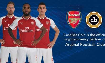 Arsenal Strikes Partnership Deal with CashBet, Signs Up to Promote Cryptocurrency