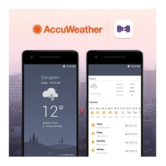 AccuWeather to Provide Essential Weather Content Worldwide for Entertainment Media Player App, VuLiv