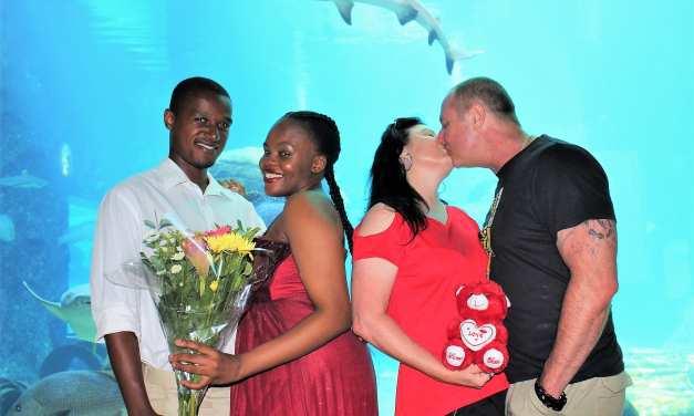 uShaka Marine World provides an ocean full of love this Valentines Month