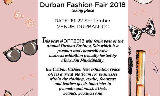 Your Chance To Exhibit at The Durban Fashion Fair