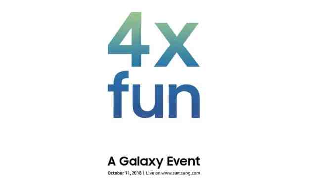 Official Invites Sent Out for 11th October Galaxy Unveiling, Could It Be Samsung's Bendable Phone?