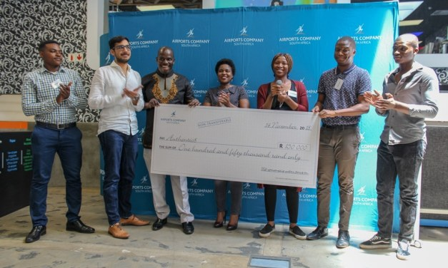 Airports Company South Africa and Tshimologong announce winner of the access management system challenge