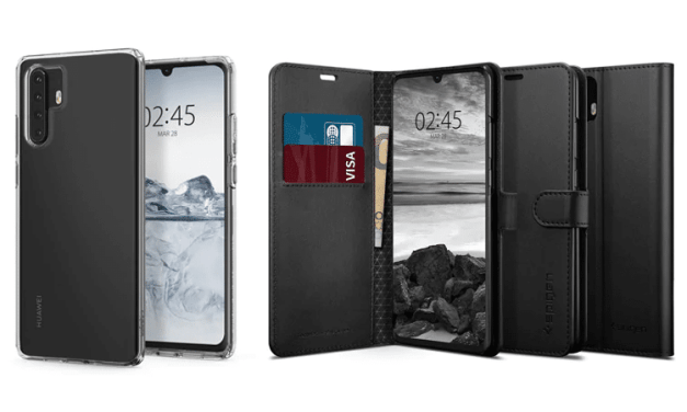 Case Manufacturer, Spigen Leaks Huawei P30 and P30 Pro Design