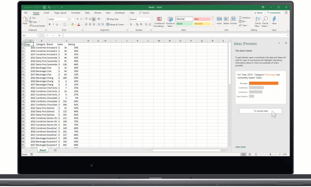 Microsoft now allows you to snap a picture of a spreadsheet and import into Excel