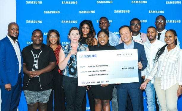 Samsung Makes a Difference with Multi-Million Rand Bursary