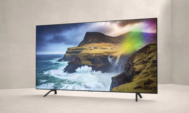 Samsung's QLED TVs and Its New Ambient Mode Transform Living Rooms into a Gallery Space