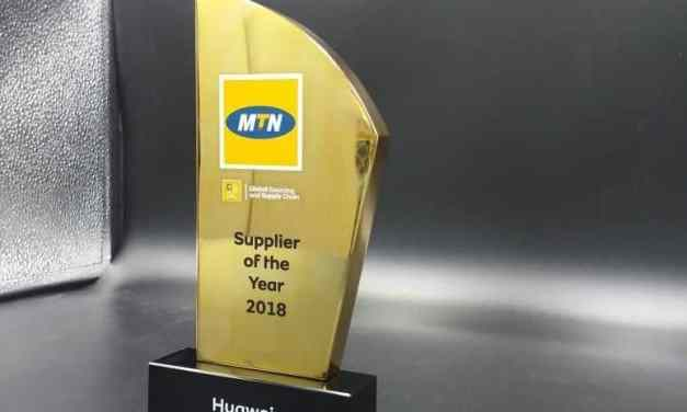 MTN Awards Huawei Its 'Supplier of the Year 2018' and 'Best Innovation 2018'