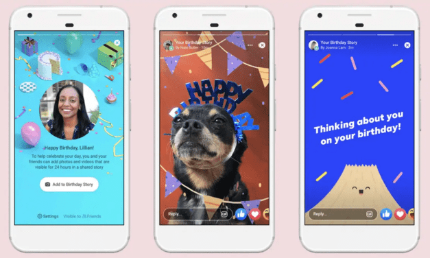 Facebook Launches Birthday Stories – Allows you to add Cards, Photos and Videos