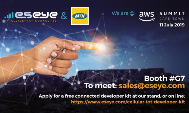Eseye, MTN and SolarNow to present the easiest way to deploy cellular IoT at AWS Summit