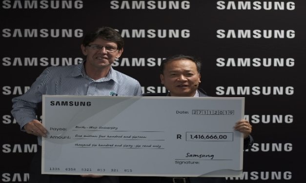 Samsung Doubles Multi-Million Rand Bursary