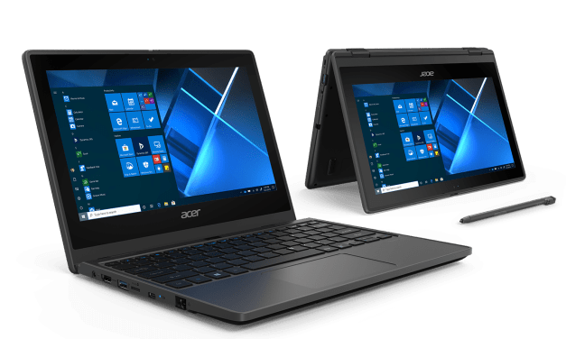 Acer Announces the TravelMate Spin B3, a Convertible Notebook for the K-12 Classroom