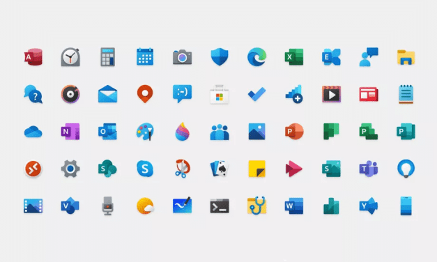 Microsoft Looks to 'Modernise' Windows 10 Feel with New Colourful App Icons