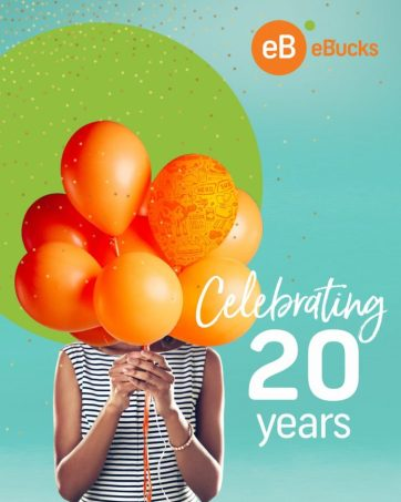 eBucks to reward customers with R20m worth of prizes in celebration of 20th birthday