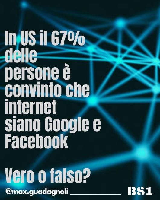 Per la gente internet è Facebook