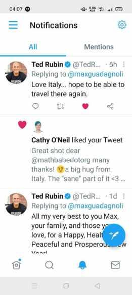 Ted Rubin e Cathy ONeil: fatto!